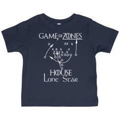 Game of Zones House Football Toddler Tee