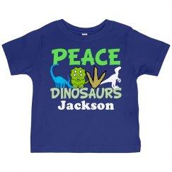 Peace Love Dinosaurs