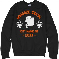 Booze Crawl Custom City