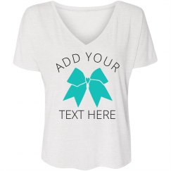 Create Your Own Cheerleading Tee