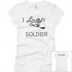 I Love My Soldier CG