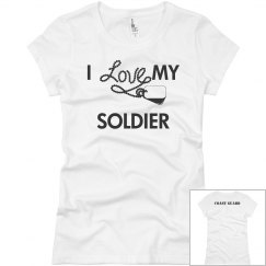 I Love My Soldier CG