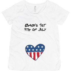 Baby's 1st July 4th