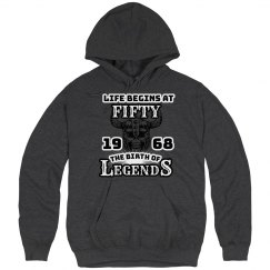 Vikings men's fiftieth birthday sweatshirt