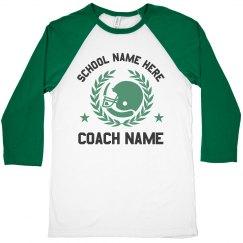 Custom School Coach Tee