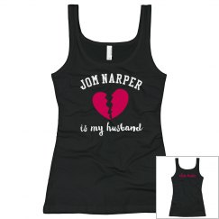 JN Husband Ladies Slim Tank