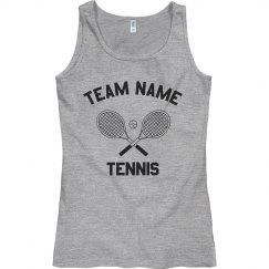 Custom Girls Tennis Tank