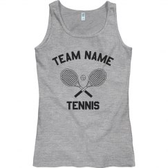 Custom Girls Tennis Tank