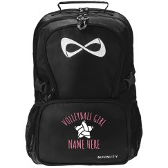 Volleyball Girl Backpack