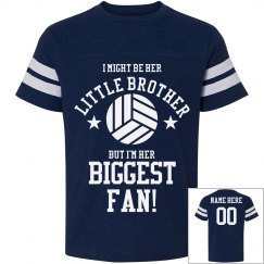Volleyball Little Brother Tee