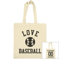 Customizable Love Baseball