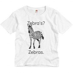 Youth Zebra Tee