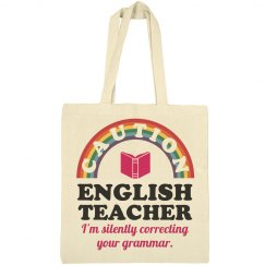 Caution English Teacher