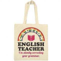 Caution English Teacher