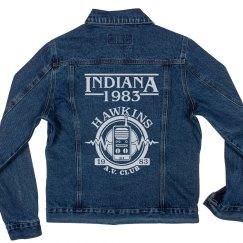 Hawkins, Indiana AV Club Jacket