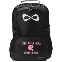 Glitter Cheerleader That's The Spirit Nfinity Bag