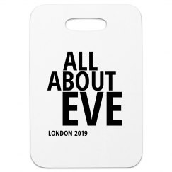 All About Eve - London 2019 - Luggage Tag