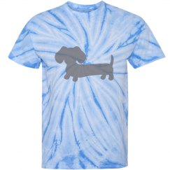 Wiener Dog Tie-dyed shirt