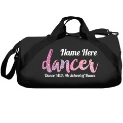 sparkle Dancer dance duffle