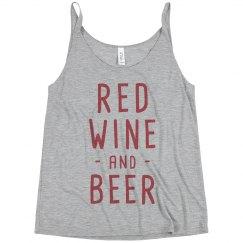 Trendy Red Wine & Beer Tank