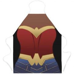 Modern Wonder Woman Parody Apron
