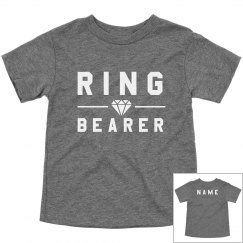 Ring Bearer Custom Diamond Tee
