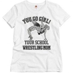 Mom's Wrestling Shirt