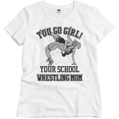 Mom's Wrestling Shirt