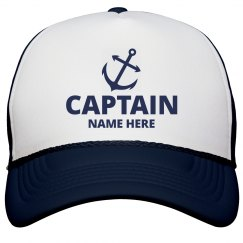 Captain Custom Name Dad Gear