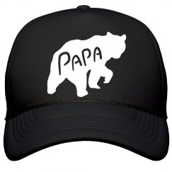 Papa Bear Silhouette Father's Day