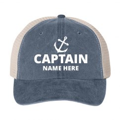 Custom Captain Name Father's Day
