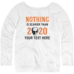 Custom Scary 2020 Skull Sweater