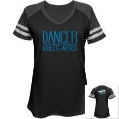 Dancer Athlete Artist V Neck tee