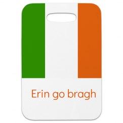 Erin go bragh Luggage Tag