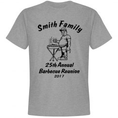 Custom Annual Family Barbecue Shirt