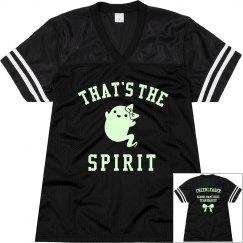 Custom Glow Cheerleader That's The Spirit