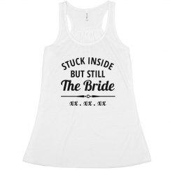 Stuck Inside, But Still the Bride Virtual Wedding
