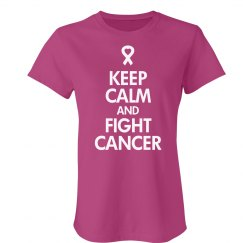 Keep Calm Fight Breast Cancer