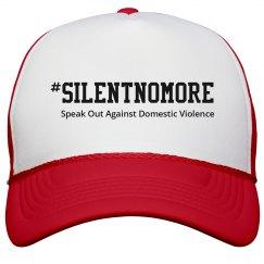 Red #SilentNoMore Cap w/o hand