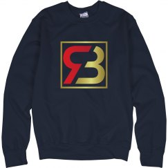 Red Bottoms Navy Sweatshirt