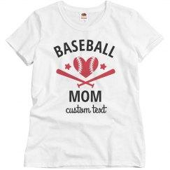 Certified Customizable Baseball Mom