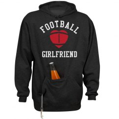 Football Girlfriend Beer