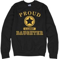 Proud U.S. Army Daughter