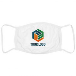 Custom Business Logo Upload Masks