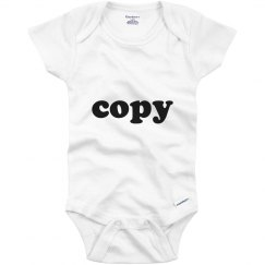 Copy Twin Onesie