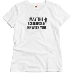 Golf - Misses Fruit of the Loom Cotton Tee Shirt