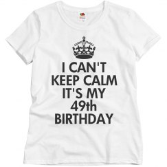 It's my 49th birthday