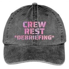 Debriefing hat