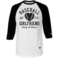 Trendy and Funny Baseball Girlfriend Jersey