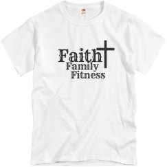 Faith. Family. Fitness